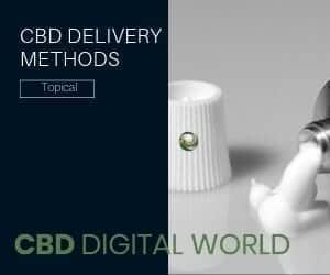 CBD Delivery Method Topical