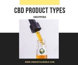 CBD Product Type Droppers